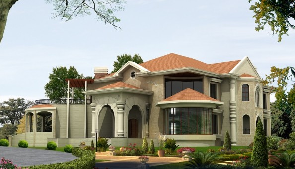 Villa arbeel architecture engineering office for Best villa plans